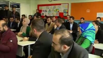 Sultanbeyli'de görev yapan en genç öğretmenin Öğretmenler Günü kutlandı - İSTANBUL