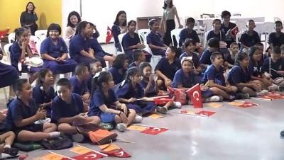Taylandlı çocuklara 'Arkadaşım Türkiye' etkinliği - BANGKOK