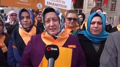 AK Partili kadınlar 'Şiddete hayır' için yürüdü