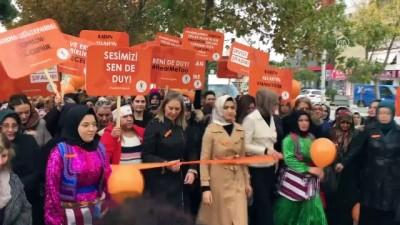 AK Partili kadınlar şiddete karşı yürüdü - İZMİR