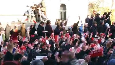 rejim -  - Gürcistan İkinci Tur İçin Sokaklarda - Gürcistan Halkı Irkçılığa Karşı Yürüdü