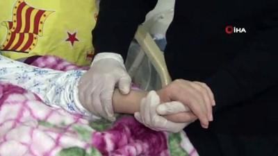 beyin kanamasi -  Hidrosefali hastası eşi için elinden geleni yapıyor