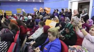 Kadına karşı şiddete 'turuncu çizgi' - ANKARA