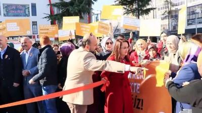 Kadına şiddete 'turuncu çizgi' - SAMSUN