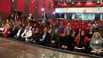 """AK Parti Mardin Milletvekili Öçal: """"Kadın emeği ve bedeninin sömürülmesi de şiddettir"""""""