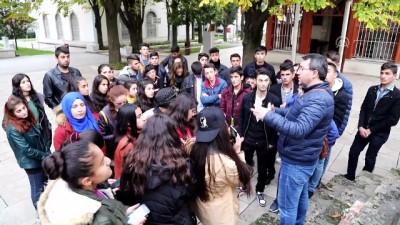 Başkaleli öğrenciler Çannakkale, Bursa ve İstanbul'u gezdi - VAN