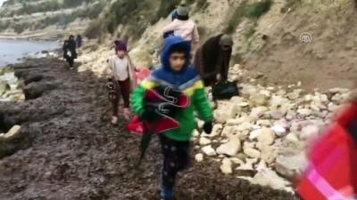 nani - Düzensiz göçmenleri jandarma kurtardı - ÇANAKKALE