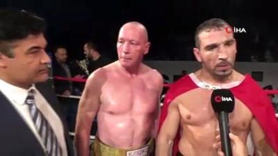 """boksor - Fırat Aslan: """"Bu ringde dostluk ve çocuklar kazandı"""""""