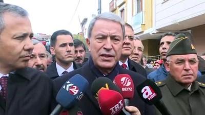 Milli Savunma Bakanı Akar açıklama yaptı - İSTANBUL