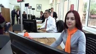 Nüfus çalışanları farkındalık için 'turuncu' giydi - KIRKLARELİ