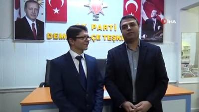 18 yaşındaki genç belediye meclis üyeliği için aday adayı oldu