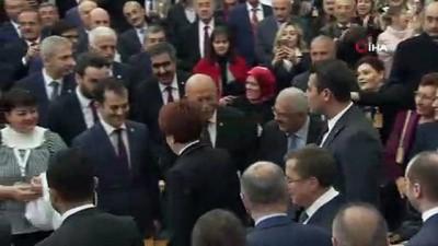 Akşener'den gaf: 'Milletimiz şaşmaz ferasetiyle bugünleri gördüğü için AK Parti'yi kurdu'
