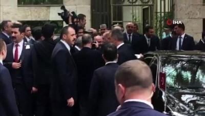 - Cumhurbaşkanı Recep Tayyip Erdoğan TBMM Başkanı Binali Yıldırım ile görüştü ve TBMM'den ayrıldı