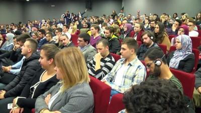 Dzaferovic ve Komsic öğrencilerle buluştu - SARAYBOSNA