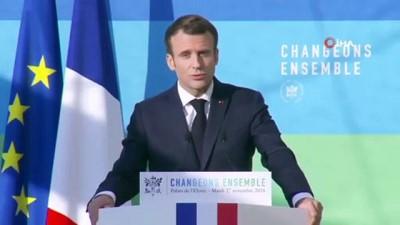 """- Macron'dan """"Haydut"""" Benzetmesi - """"Geri Adım Atmayacağım"""""""