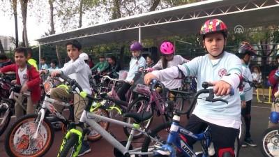 bisiklet - 'Trafikte Bisikletimleyim' projesi - ANTALYA