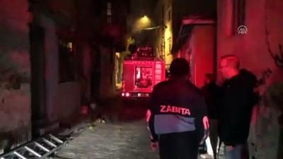 Zile'de ev yangını - TOKAT
