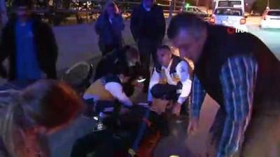bisiklet -  Adana'da otomobilin vurup kaçtığı bisiklet sürücüsü ağır yaralandı