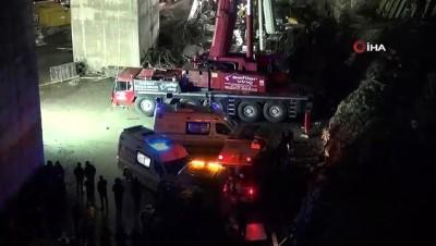 bassagligi -  Beton blok altında kalan işçilerden 1'nin daha cansız bedenine ulaşıldı