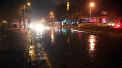 Edirne'de kar başladı (2)