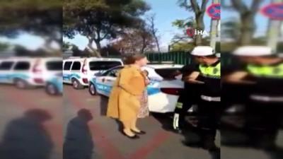 Fatih'te çığlık atan kadın sürücünün akademisyen olduğu ortaya çıktı