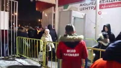metro istasyonu - Lokomotif Stadı'nda güvenlik önlemleri arttırıldı