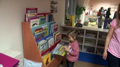 Türkiye'nin ilk bebek kütüphanesi Karabük'te açıldı