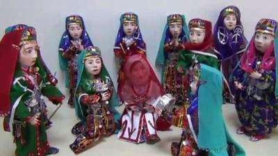 Anadolu kültürü 'kitre bebekler' ev hanımlarının elinde hayat buluyor - KONYA