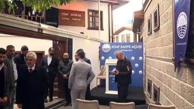 Bakan Pakdemirli, Yeni Dünya Vakfının 'Kitap Kahve' açılışına katıldı - ANKARA