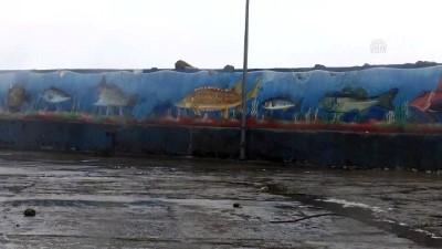 Batı Karadeniz'de kuvvetli rüzgar - DÜZCE