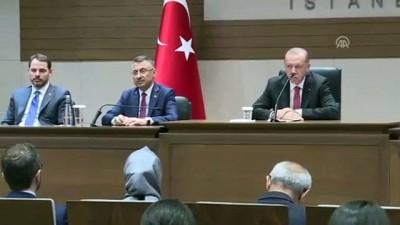 Cumhurbaşkanı Erdoğan: '(Rusya'dan S-400 hava savunma sistemi alımı) İnşallah 2019'un sonuna doğru bu teslimatlar yapılacak' - İSTANBUL
