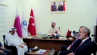 Diyanet İşleri Başkanı, Katar'da Yunus Emre Enstitüsü'nü ziyaret etti - DOHA