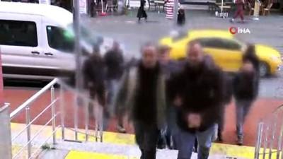silahli teror orgutu -  Kocaeli'de terör operasyonunda gözaltına alınan 8 kişi adliyeye sevk edildi