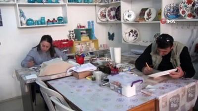 Sinop'ta çinicilik sanatı gelişiyor