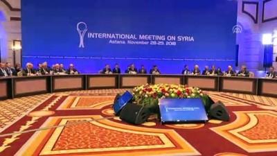 muhalifler - Suriye konulu 11. garantörler toplantısı sona erdi - ASTANA