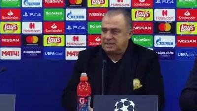 TEKRAR - Galatasaray - Lokomotiv Moskova maçının ardından - MOSKOVA