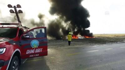 Uçak kazası tatbikatı - VAN