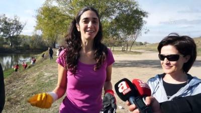 İspanyol öğretim görevlisinin 'plastik' mücadelesi sürüyor - EDİRNE