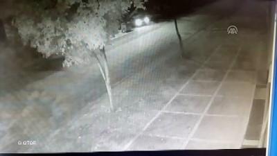Maskeli hırsızlık zanlıları güvenlik kamerasında - ANKARA