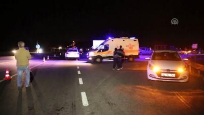 Minibüs yayalara çarptı: 2 ölü - EDİRNE