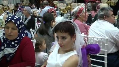 'Özel' kızlar için 'özel' düğün - ANTALYA