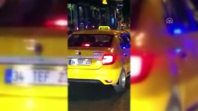 Taksicinin engelli vatandaşı aracına almadığı iddiası - İSTANBUL