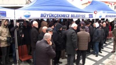Büyükçekmece İbrahim Sancak Camii ve Taziye Evi'nin resmi açılışı gerçekleşti