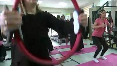 Diyarbakırlı kadınları sporla buluşturdular - DİYARBAKIR