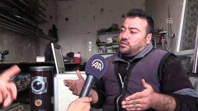 muhalifler - İdlib'dekiler Antep fıstığı kabuğuyla ısınıyor (2) - İDLİB