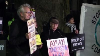 İngiltere'de Suudi Arabistan protestosu - LONDRA