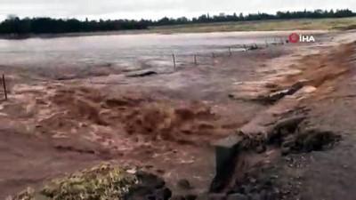 - Kaliforniya Doğal Afetlerle Mücadele Ediyor - Önce Yangın Sonra Sel