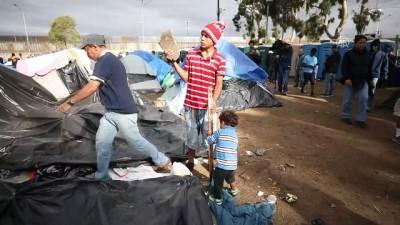 Tijuana'ya gelen göçmenler bekleyişini sürdürüyor - TİJUANA