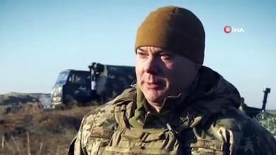helikopter -  Ukrayna Ordusundan Azak Denizi'nde Tatbikat