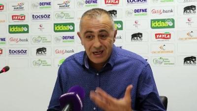 Hatayspor - Ümraniyespor maçının ardından - HATAY